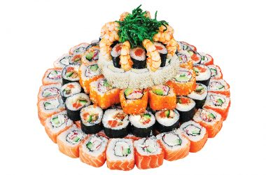 didysis sushi tortas