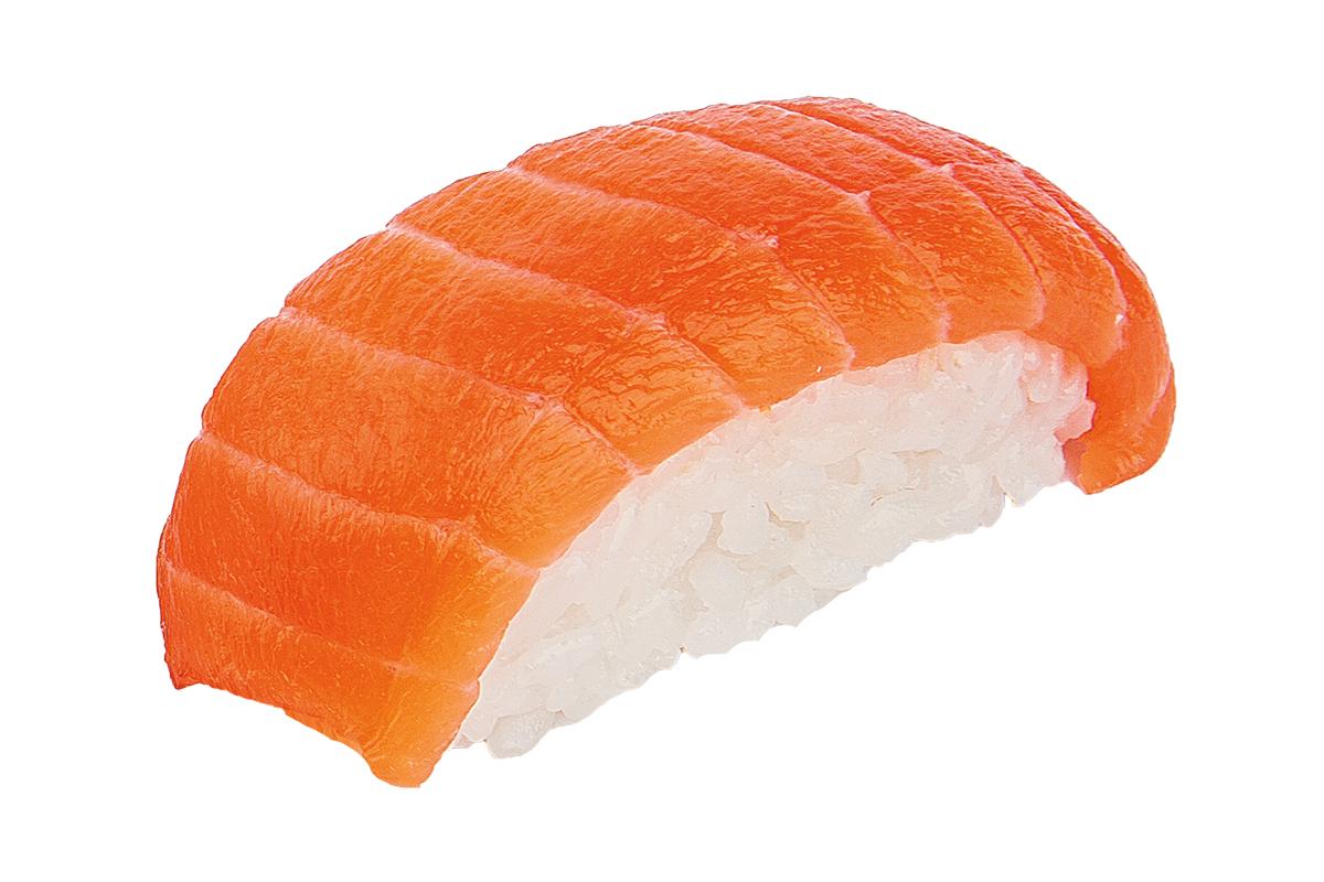 Nigiri with salmon | Sushi Express Masago